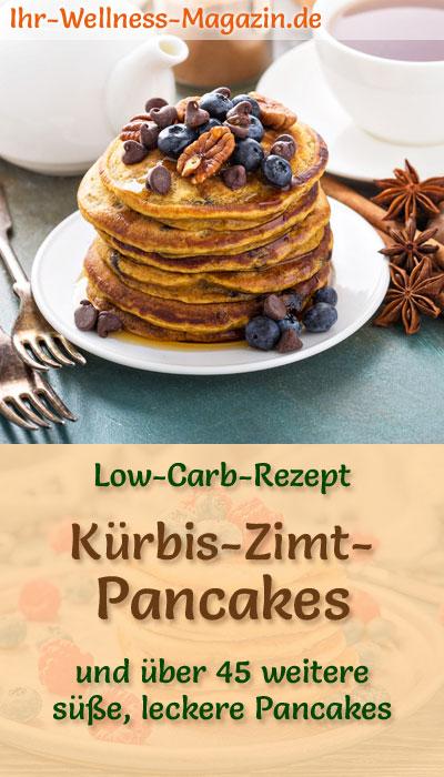 low carb k rbis zimt pancakes s es pfannkuchen rezept. Black Bedroom Furniture Sets. Home Design Ideas