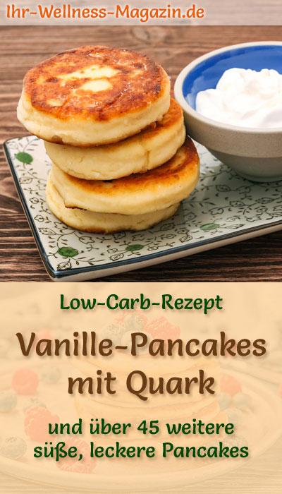 Low Carb Vanille Pancakes Mit Quark Süßes Pfannkuchen Rezept
