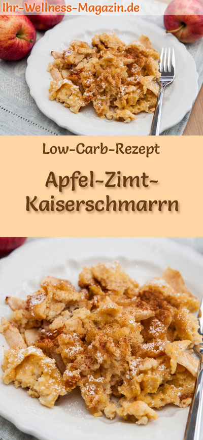 low carb apfel zimt kaiserschmarrn s es pfannkuchen rezept. Black Bedroom Furniture Sets. Home Design Ideas