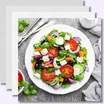 weiter zu - Low-Carb-Salate