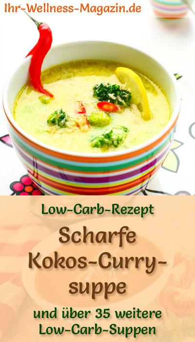 scharfe low carb kokos curry suppe rezept. Black Bedroom Furniture Sets. Home Design Ideas