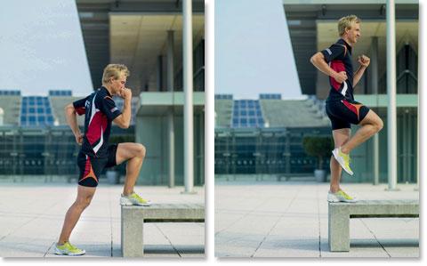 2. Krafttraining für Läufer - Parkbank von Dr. Matthias Marquardt