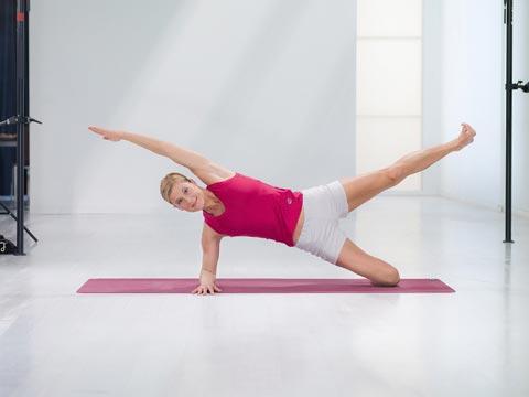 Variation 1 der Fitness-Übung