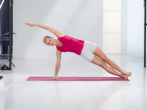 Variation 2 der Fitness-Übung