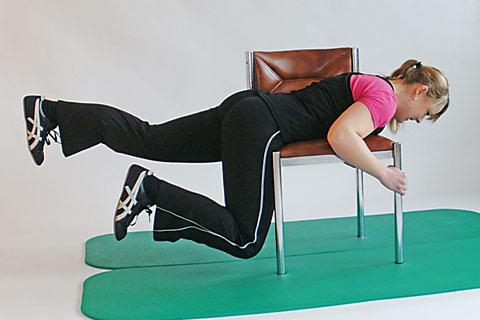 Fitness-Übungen: Hüftstrecken 3