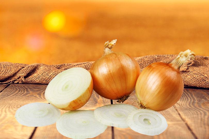 Aufgeschnittene Zwiebel Gegen Husten