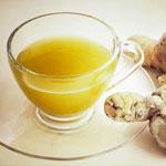 weiter zu - Ingwer im Tee