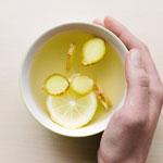 weiter zu - Zitronen Ingwer Tee