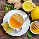 weiter zu - Ingwer Tee
