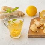 weiter zu - Zitronen-Ingwer-Tee