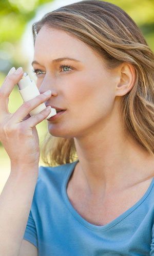Maßnahmen zur Behandlung von Asthma bronchiale