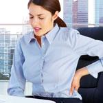 weiter zu - Sitzhaltung gegen Rückenschmerzen