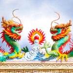 weiter zu - Chinesische Drachen