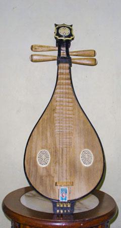 Die Liuqin - Eine alte chinesische Mandoline