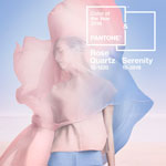 Serenity & Rose Quartz sind die PANTONE Farben des Jahres 2016