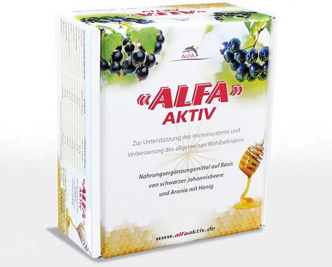 ALFA AKTIV: Nahrungsergänzung mit intensiver Regenerationskraft