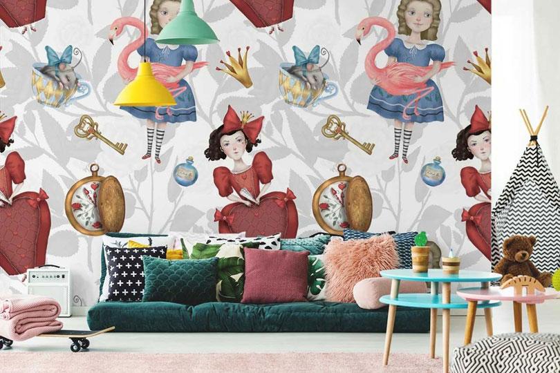 fototapete f r kinderzimmer. Black Bedroom Furniture Sets. Home Design Ideas