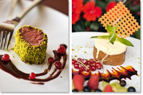 Reisen Südtirol: Küchenchef Arnold Paris serviert köstliche Kreationen aus saisonfrischen Produkten im Hotel Ganischgerhof Mountain Resort & Spa