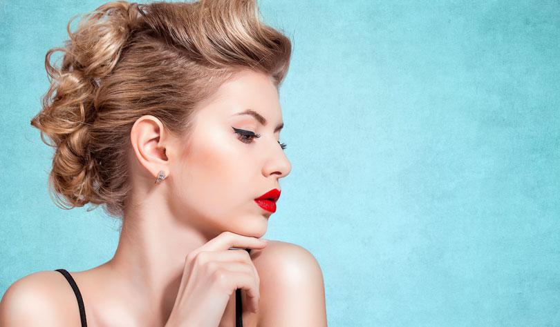 Trendige Hochsteckfrisuren, Short Cuts, Bobs, elegante Frisuren, ...
