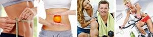 Wellness-Kategorie Abnehmen und Fitness