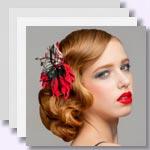 zu den Bildergalerien - Schöner Haarschmuck