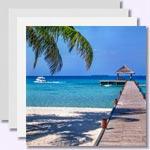 weiter zu - Bilder von den sch�nsten Malediven Inseln