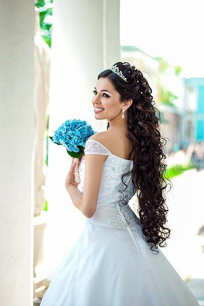 Hochzeitsfrisur Lange Haare Schleier Beliebtes Hochzeitsfoto Blog 2019