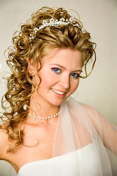 Tiara mit perlen haarschmuck f r braut und hochzeit - Hochzeit haarschmuck ...