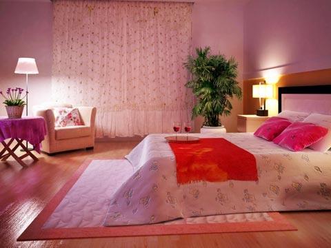 Schlafzimmer schon dekorieren